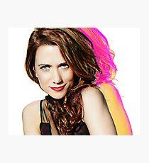 Kristen Wiig SNL Portrait Photographic Print