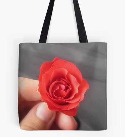 SAY IT WITH A ROSE - HAPPY VALENTINES DAY Tote Bag