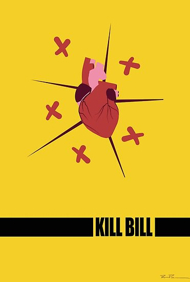 Kill Bill Minimal Fan Art by Ryan Piracha