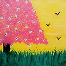 Cherry Blossom Tree by Kamira Gayle