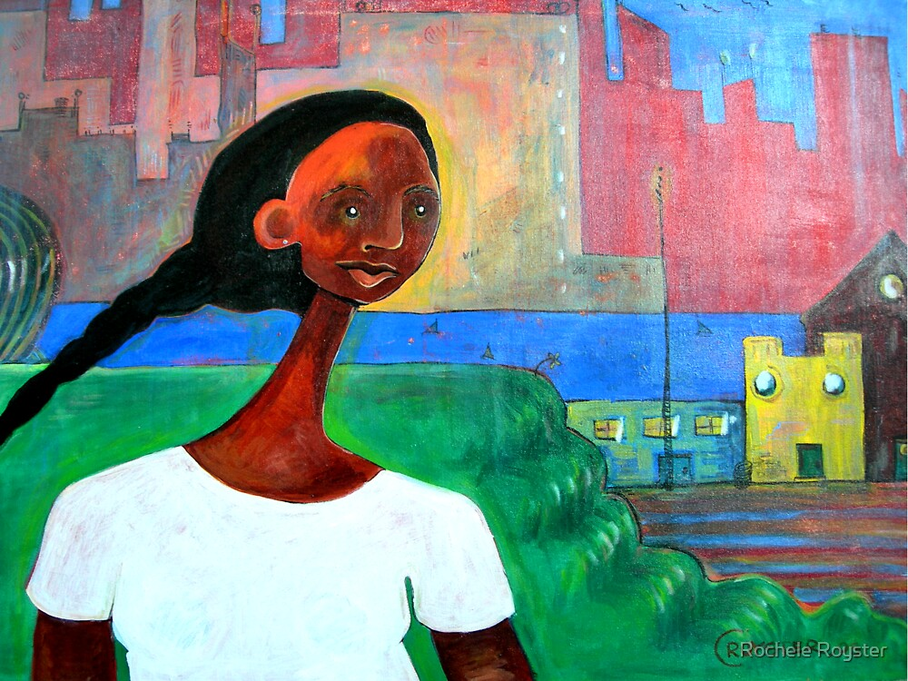 Dreamscape 2 (I ran to the river...it was boiling) by Rochele Royster