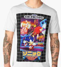 Sonic Mania Game Sega Genesis Japanese Men's Premium T-Shirt
