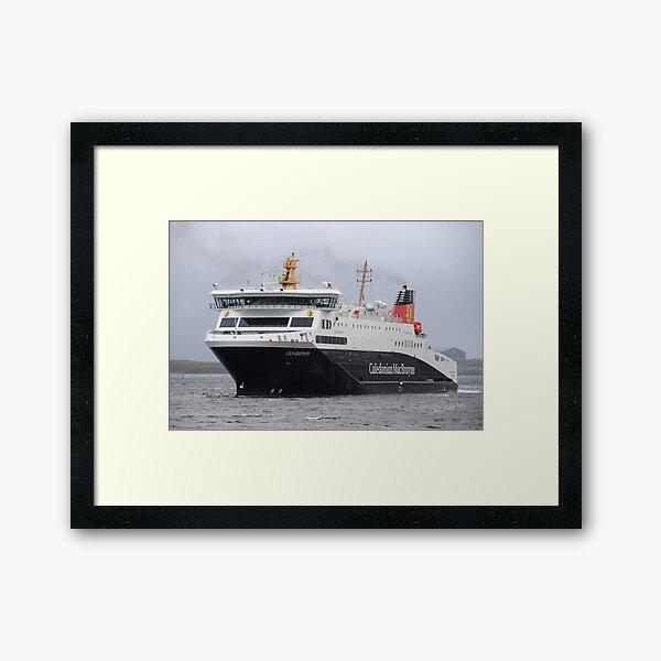 MV Loch Seaforth Framed Art Print