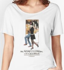 Sunday in the Park with George Musical  Women's Relaxed Fit T-Shirt