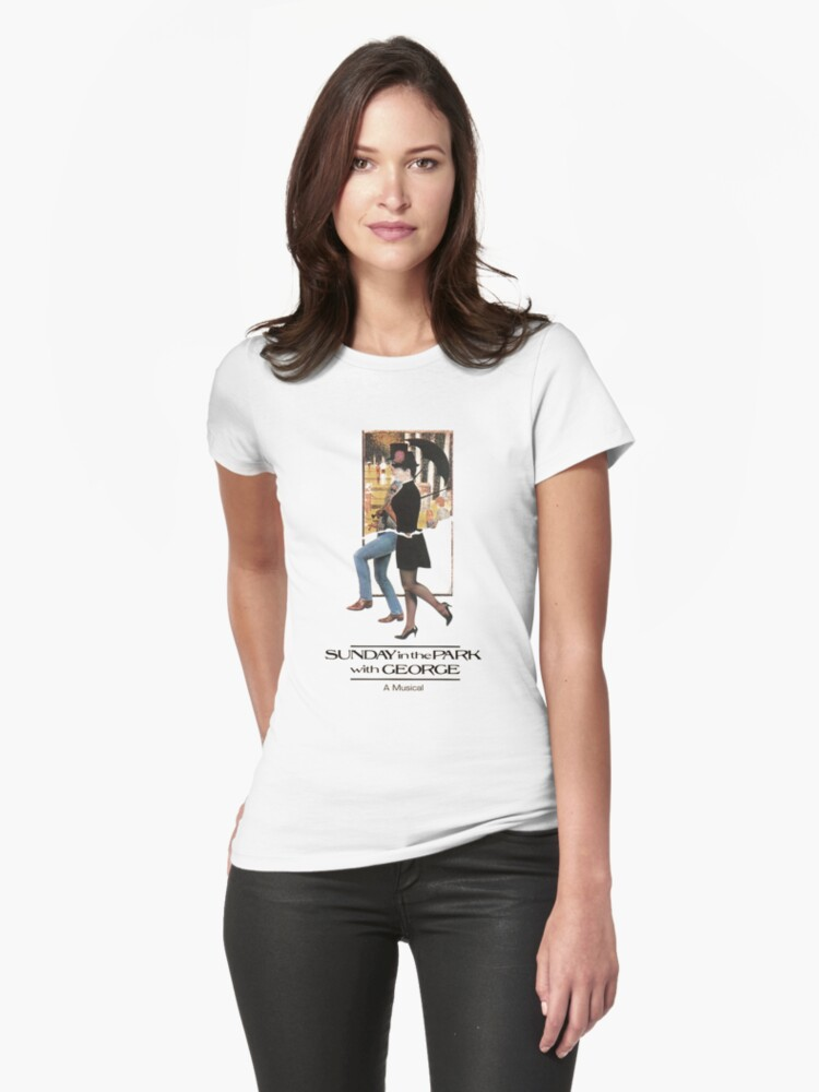 Sunday in the Park with George Musical  Womens T-Shirt Front
