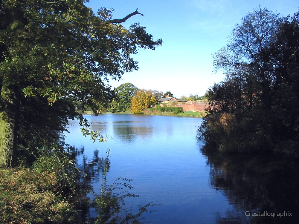 Memories of Suffolk - Autumn Lake by Crystallographix