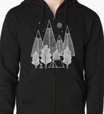 Camp Line Zipped Hoodie