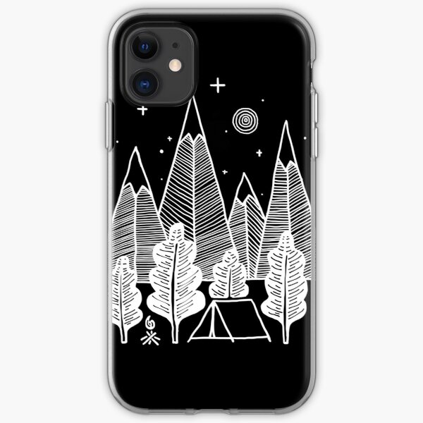 Camp Line iPhone Soft Case