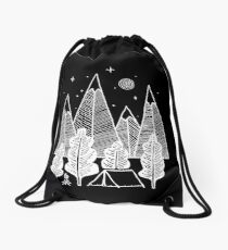 Camp Line Drawstring Bag