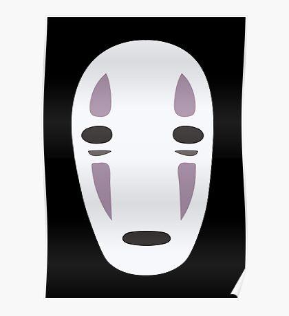 Kaonashi (No-Face) - Spirited Away Poster