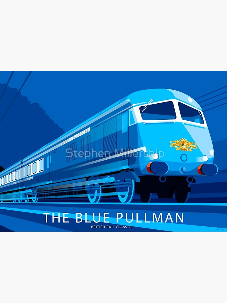 The Blue Pullman by smillership