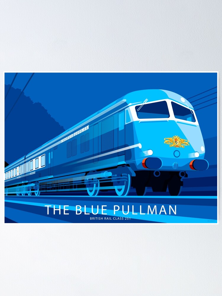 Alternate view of The Blue Pullman Poster