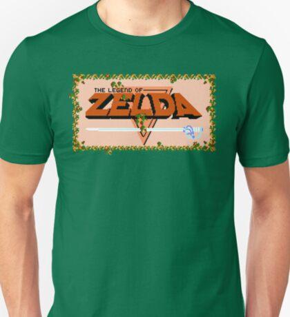 Title Screen - The Legend of Zelda T-Shirt
