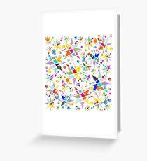 Starry Gaudi Sky Greeting Card