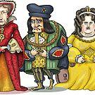 British Monarchs by MacKaycartoons