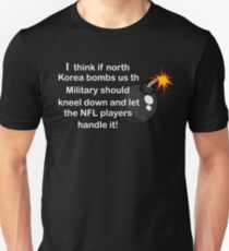 Funny Korea Bomb with NFL player T-Shirt