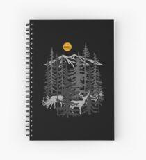 Cuaderno de espiral Deers