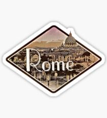 Roma Rome Italia Italy city Sticker