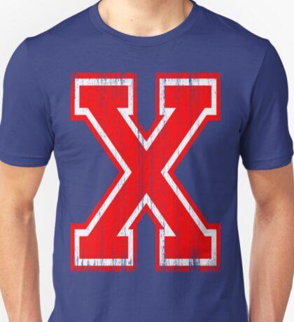 BigRed Letter X T-Shirt