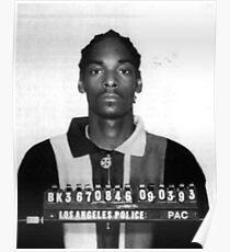 Snoop Dog Mugshot  Poster