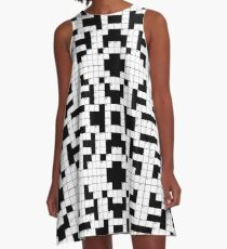 Crossword Game! A-Line Dress