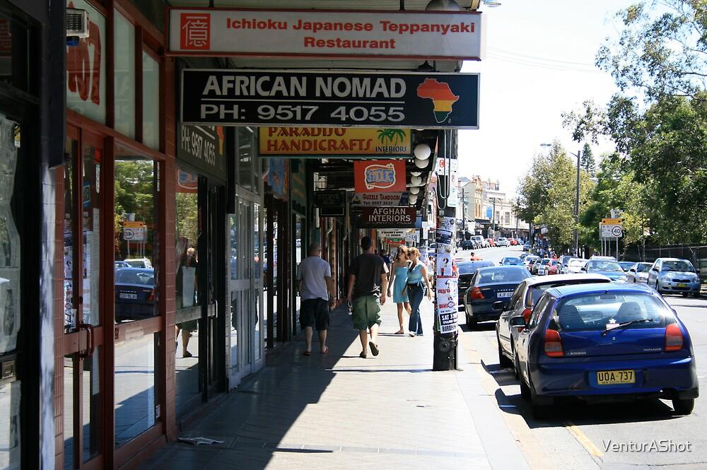 King Street, Newtown, Australia -2007  by VenturAShot