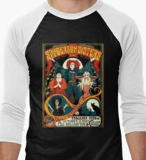 Sanderson Sisters Tour Poster T-Shirt Men's Baseball ¾ T-Shirt