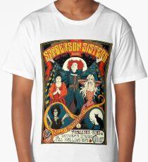Sanderson Sisters Tour Poster T-Shirt Long T-Shirt