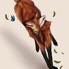Maned wolf  by Ashivrn