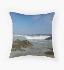 Wild West Coast Throw Pillow