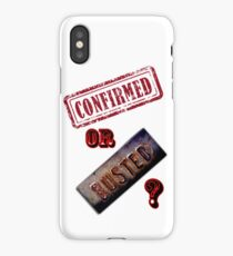 Confirmed or Busted Mythbusters iPhone Case