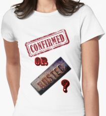 Confirmed or Busted Mythbusters Women's Fitted T-Shirt
