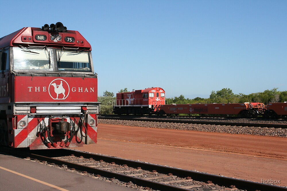 The Ghan. by hotbox