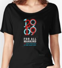 Celebrate the 50th anniversary of the Apollo 11 moon landing Women's Relaxed Fit T-Shirt