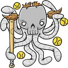 Fastball Octopus by Curtis Cunningham