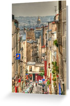 Parisian View from Montmartre by MaluC