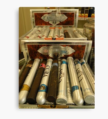 Cigar Anyone... Canvas Print