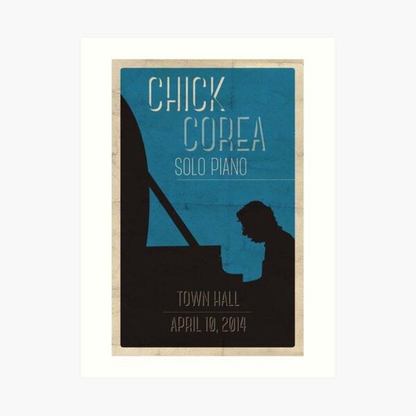 Chick Corea Poster Art Print