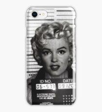 Marilyn Monroe Mugshot iPhone Case/Skin