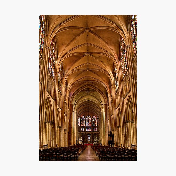 St Pierre et St Paul CathedralTroyes. France Photographic Print