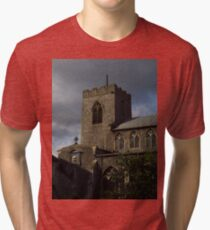 St Gregory, Pottergate, Norwich Tri-blend T-Shirt