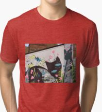 Norwich Cats Tri-blend T-Shirt