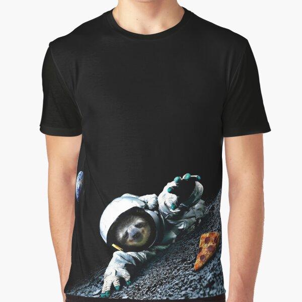 Slothstronaut Graphic T-Shirt