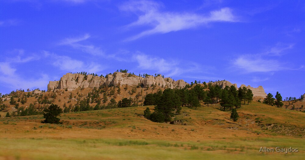 Red Cloud Buttes  by Allen Gaydos