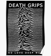 DEATH GRIPS UNKNOWN LOVE DEEP WEB Poster