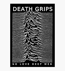 DEATH GRIPS UNKNOWN LOVE DEEP WEB Photographic Print