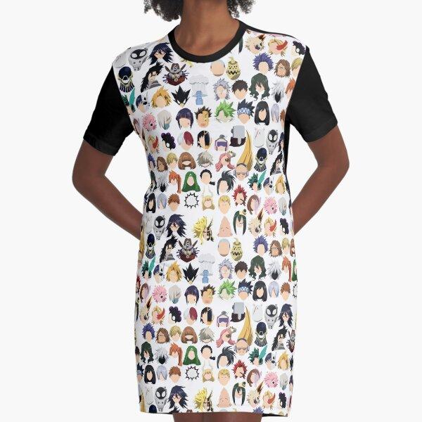 U.A. High Graphic T-Shirt Dress