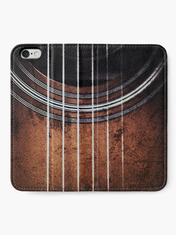 Alternate view of Guitar Phone Wallet iPhone Wallet