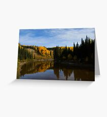 The Beatton River Greeting Card