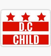 D.C Child - Washington D.C Clothing and Sticker Sticker